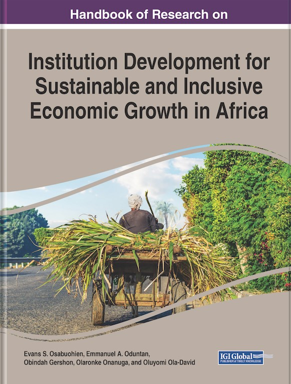 A New Release: Institution Development for Sustainable and Inclusive Economic Growth in Africa